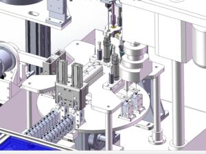 egyedi célgépek, szerelőautomaták, megmunkálógépek tervezése, gyártása